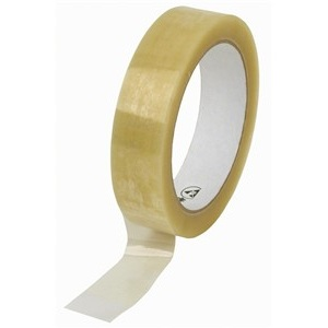 12x 66m Clear Parcel Tape 25mm 1""