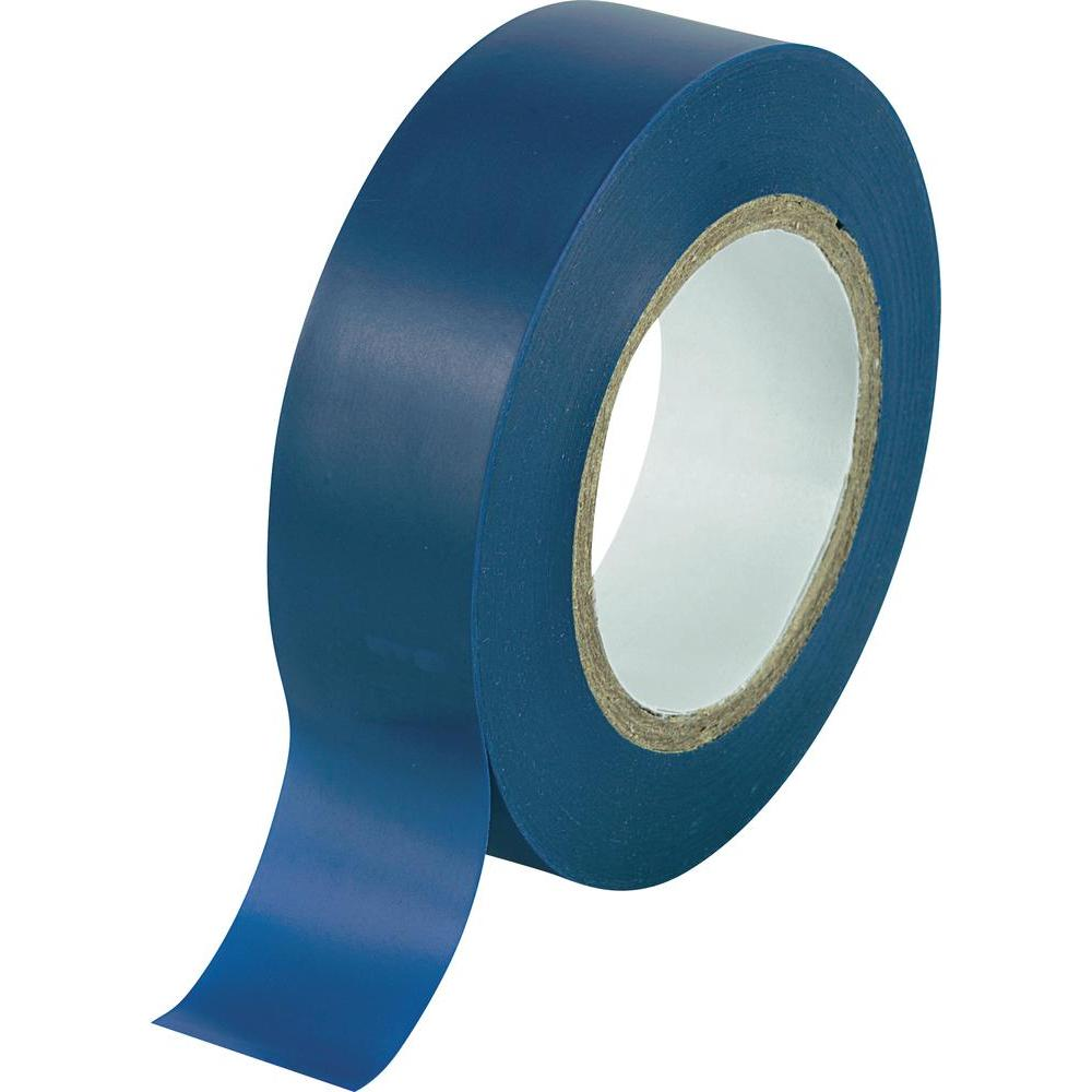 2 rolls x Blue PVC Electrical Tape 18 mm x 20m