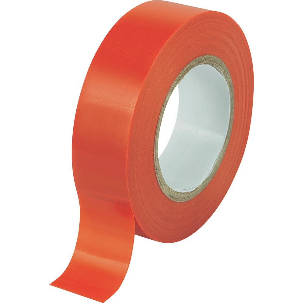 2 rolls x Red PVC Electrical Tape 18 mm x 20m