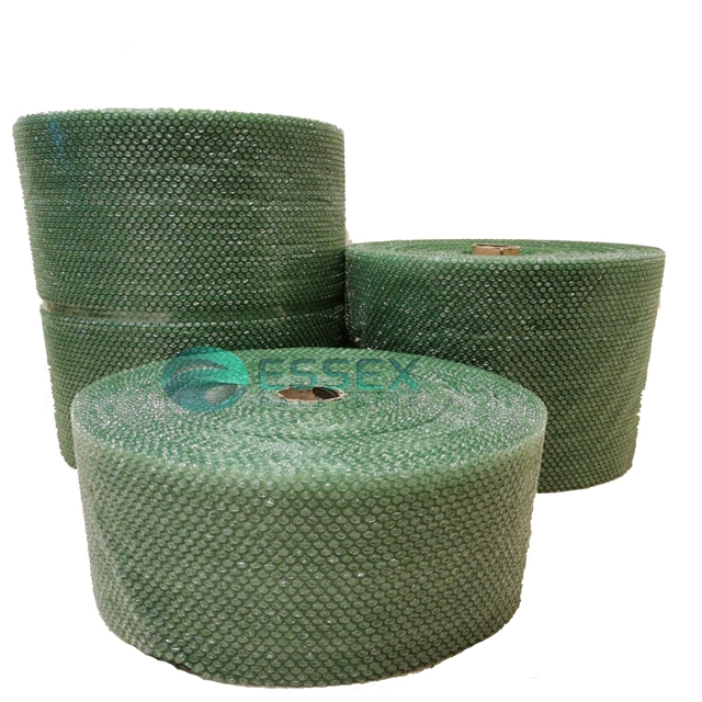 "100m Green Eco-Friendly Small Bubble Wrap 500mm (20"") width"