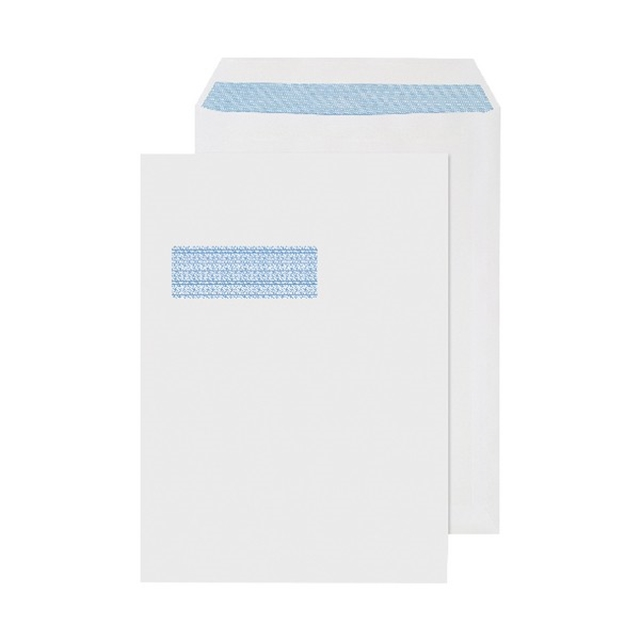250x C4 324x229mm Window Envelopes