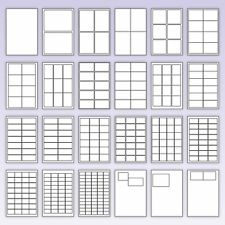 A4 White Label sheets
