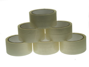 720x 66m Clear Parcel Tape 48mm 2""