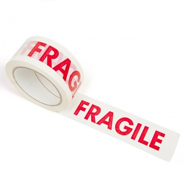 36x 66m Fragile Parcel Tape 48mm 2""
