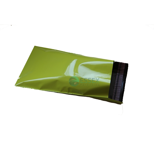 "1000x Green Mailing Bags 12x16"" - 305x406mm +Lip"