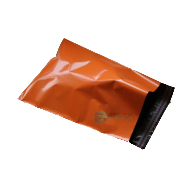 "500x ORANGE Mailing Bags 6.5x9"" - 165x230mm +Lip"