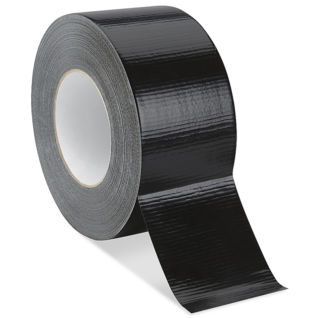 72x 50m BLACK DUCT - GAFFER Tape 48mm 2""