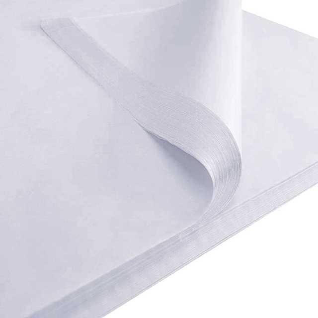 "4,800x White Tissue paper 18x28"" - 450x700mm"